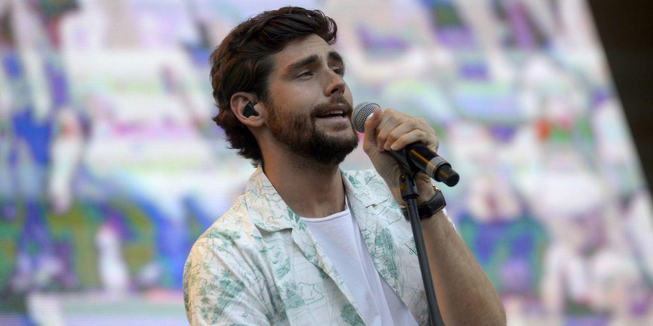 Alvaro Soler live beim Stars For Free 2018 / Foto: Peter Fath